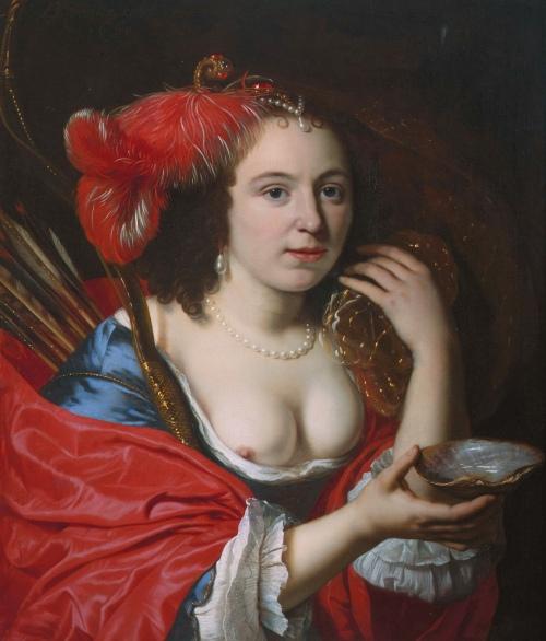 Anna du Pire as Granida, by Bartholomeus van der Helst